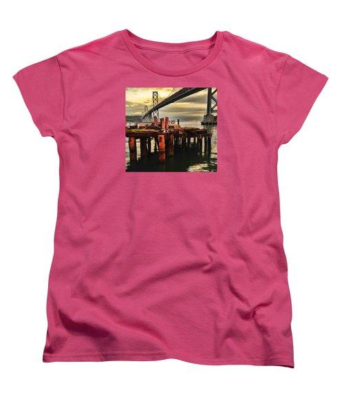 No Name Dock Women's T-Shirt (Standard Cut) by Steve Siri