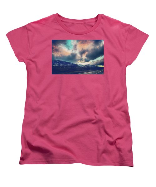 Women's T-Shirt (Standard Cut) featuring the photograph No Stopping Us Now by Laurie Search