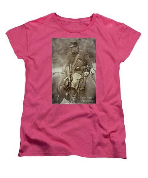 Nom-de-guerre Women's T-Shirt (Standard Cut) by Randall Cogle