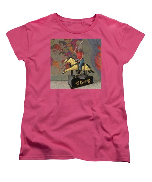 Now We Ride Women's T-Shirt (Standard Cut) by Holly Wood