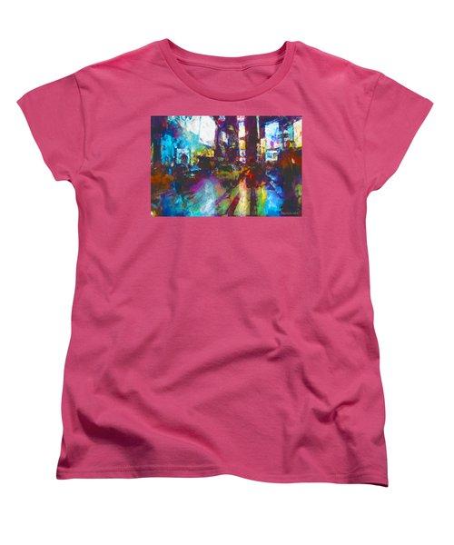 Nyc Canyon Women's T-Shirt (Standard Fit)