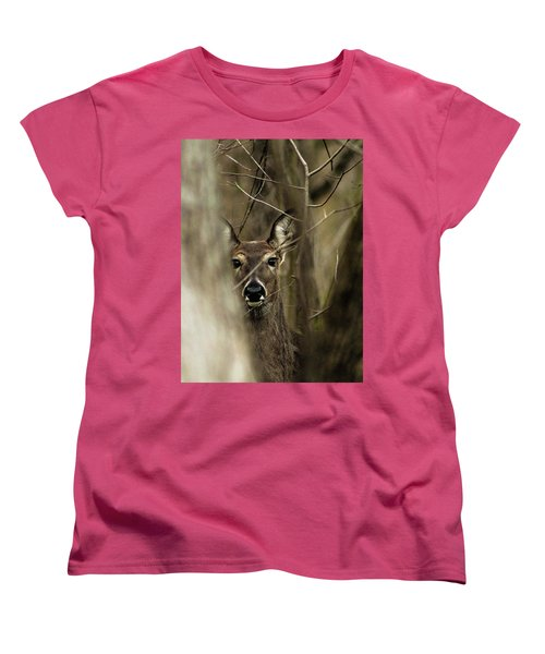 Observed  Women's T-Shirt (Standard Cut) by Bruce Patrick Smith