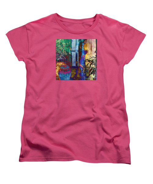 Women's T-Shirt (Standard Cut) featuring the photograph Ode On Another Urn by LemonArt Photography