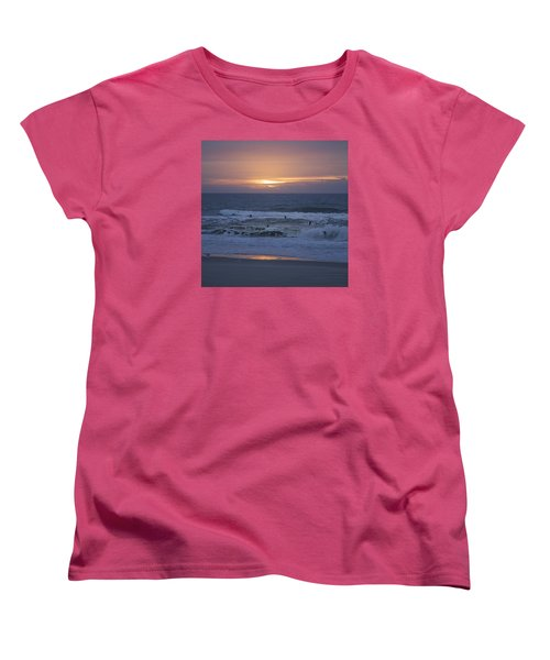 Office View Women's T-Shirt (Standard Cut) by Betsy Knapp