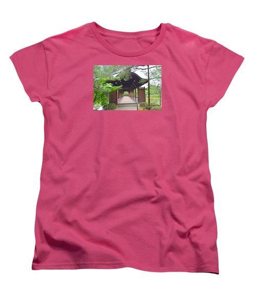 Okazaki Park And Heian Shrine Women's T-Shirt (Standard Cut)