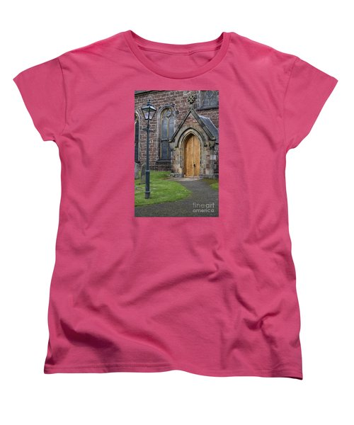 Old High Church - Inverness Women's T-Shirt (Standard Cut) by Amy Fearn