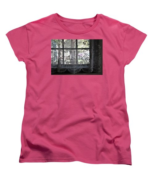 Old Lace And Old Times Women's T-Shirt (Standard Cut) by John Glass