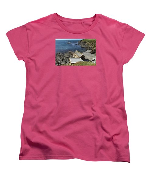 Women's T-Shirt (Standard Cut) featuring the photograph Old Lifeboat Station by Brian Roscorla