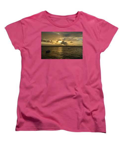 Women's T-Shirt (Standard Cut) featuring the photograph Old San Juan 3772 by Ricardo J Ruiz de Porras