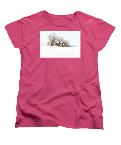 Old  Stone House Milford Women's T-Shirt (Standard Cut) by Julie Hamilton