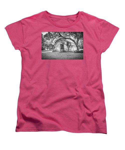 Old Tabby Church Women's T-Shirt (Standard Cut)