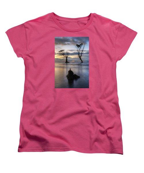 Old Trees Women's T-Shirt (Standard Cut) by Robert Charity