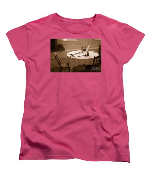 Old Way Of Life Series - Home Office Women's T-Shirt (Standard Cut) by Joe  Ng