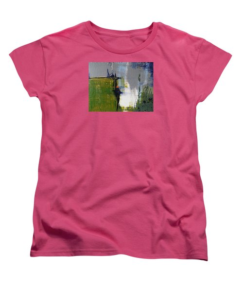 On The Edge Women's T-Shirt (Standard Cut) by Becky Chappell