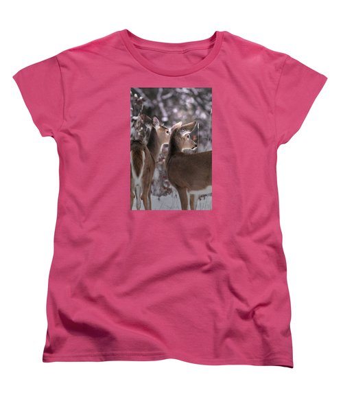 On The Look Out Women's T-Shirt (Standard Cut) by Loni Collins