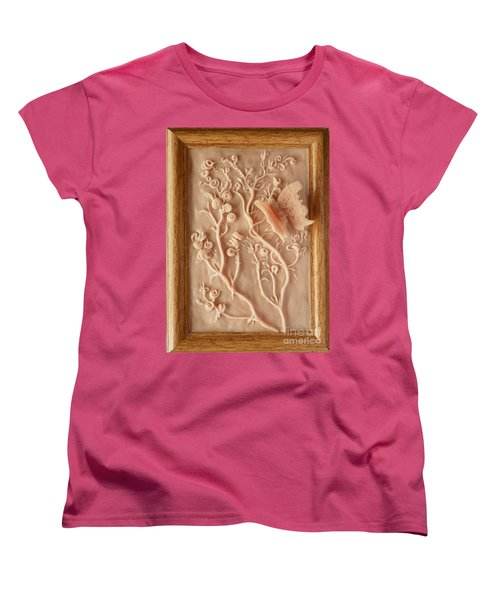 On The Way To Bronze - Alfalfa And Anglewing Women's T-Shirt (Standard Cut) by Dawn Senior-Trask
