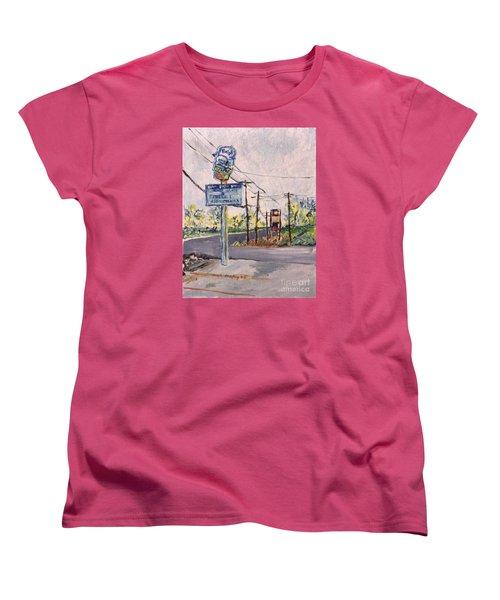 Open March 3 Women's T-Shirt (Standard Cut) by Joseph A Langley