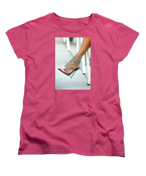 Open Toe Women's T-Shirt (Standard Cut) by Diana Angstadt