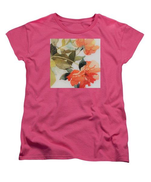 Orange Blossom Special Women's T-Shirt (Standard Cut) by Elizabeth Carr