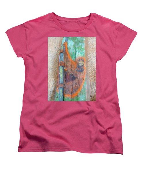 Orangutan Women's T-Shirt (Standard Cut) by Ann Michelle Swadener