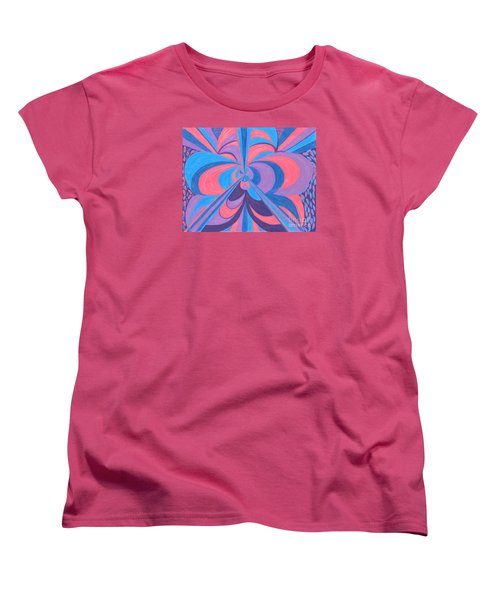 Women's T-Shirt (Standard Cut) featuring the drawing Orchid by Kim Sy Ok