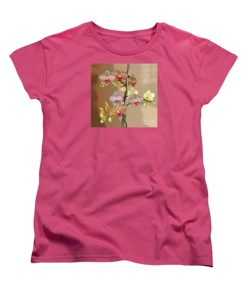 Women's T-Shirt (Standard Cut) featuring the photograph Orchid Love by Jeanette French
