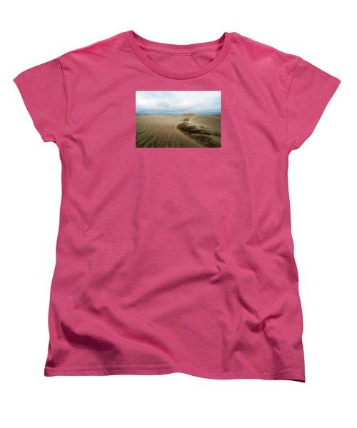 Oregon Dune Wasteland 1 Women's T-Shirt (Standard Cut) by Ryan Manuel