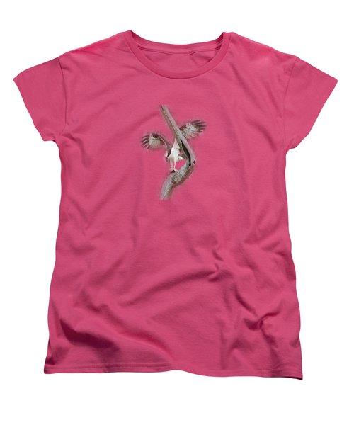 Osprey Tee-shirt Women's T-Shirt (Standard Cut) by Donna Brown