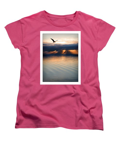 Ospreys Women's T-Shirt (Standard Cut) by Mal Bray