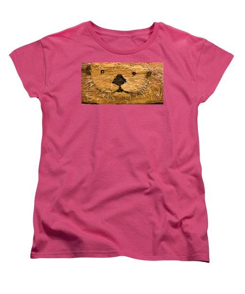 Otter Women's T-Shirt (Standard Cut) by Ann Michelle Swadener