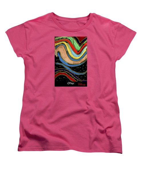 Otter Women's T-Shirt (Standard Cut) by Clarity Artists