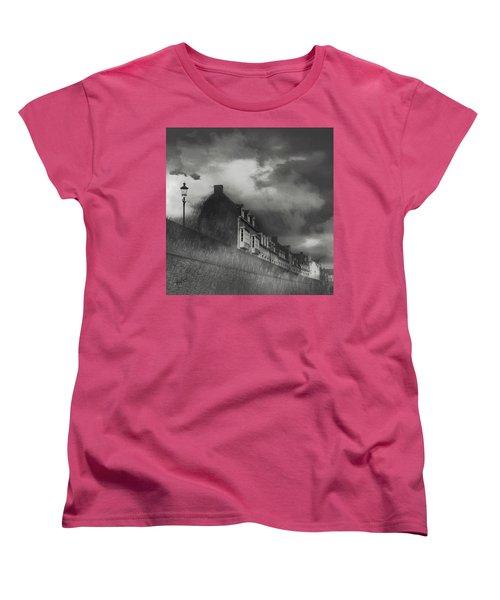 Our Lady Wall Maastricht Women's T-Shirt (Standard Cut) by Nop Briex