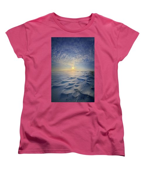 Women's T-Shirt (Standard Cut) featuring the photograph Out Of The East by Phil Koch