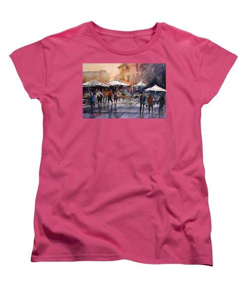 Outdoor Market - Rome Women's T-Shirt (Standard Cut) by Ryan Radke