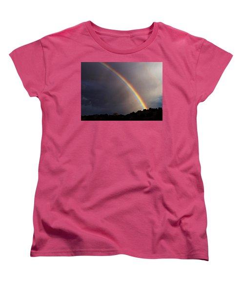 Over The Rainbow Women's T-Shirt (Standard Cut) by Joseph Frank Baraba
