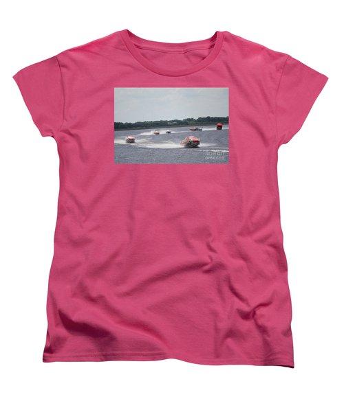 P1 Powerboats Orlando 2016 Women's T-Shirt (Standard Cut) by David Grant