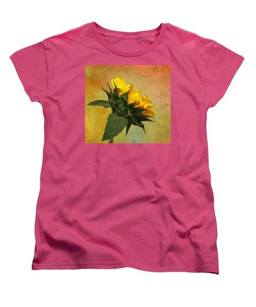 Painted Golden Beauty Women's T-Shirt (Standard Cut) by Judy Vincent
