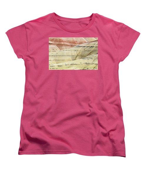 Women's T-Shirt (Standard Cut) featuring the photograph Painted Hills Ridge by Greg Nyquist