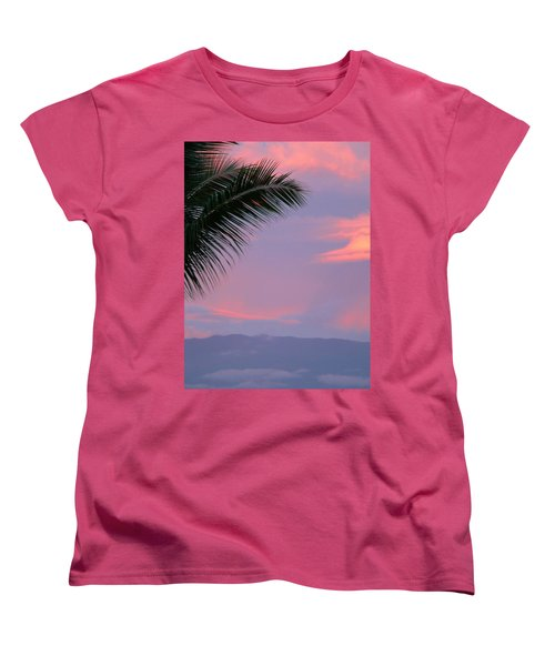 Women's T-Shirt (Standard Cut) featuring the photograph Painted Sky by Debbie Karnes