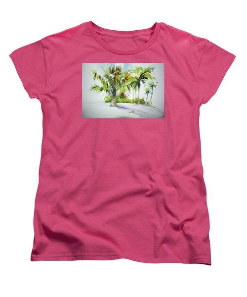 Palm Sunday Women's T-Shirt (Standard Cut) by P Anthony Visco