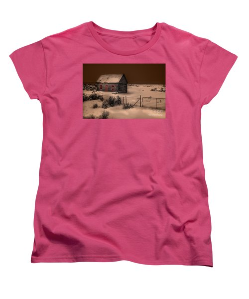 Panguitch Homestead Women's T-Shirt (Standard Cut) by William Fields