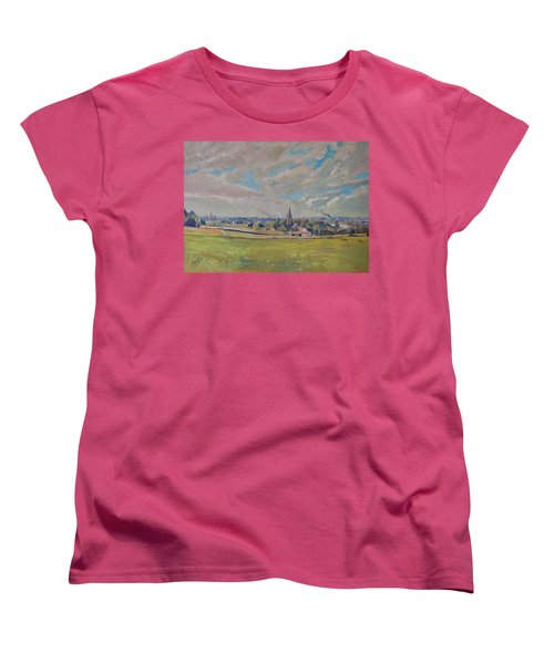 Panorama Maastricht Women's T-Shirt (Standard Cut) by Nop Briex