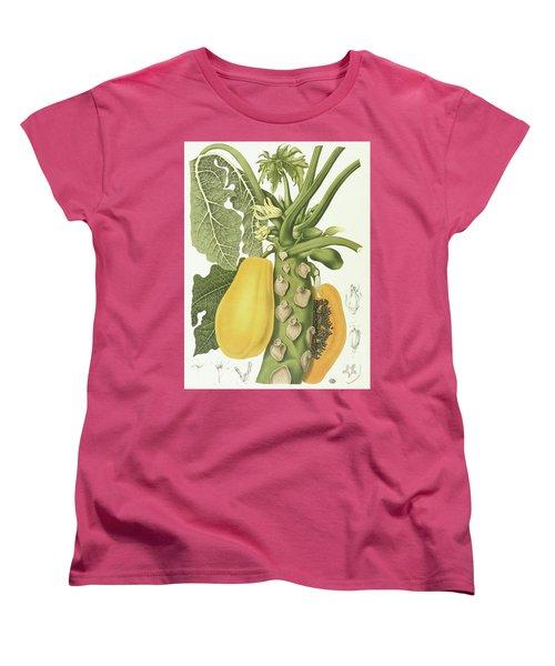 Papaya Women's T-Shirt (Standard Cut) by Berthe Hoola van Nooten