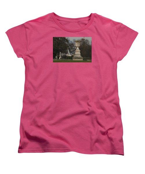 Women's T-Shirt (Standard Cut) featuring the photograph Paris Park by Katie Wing Vigil