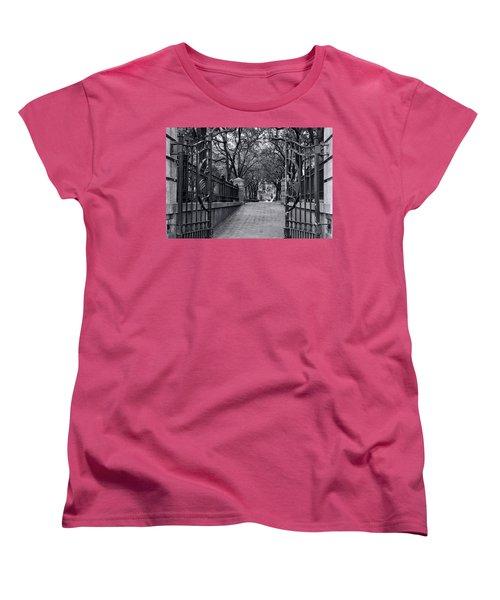 Park Place Women's T-Shirt (Standard Cut) by Ed Waldrop