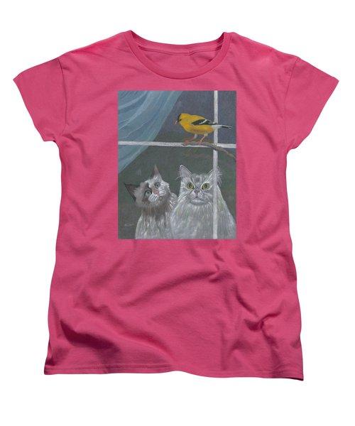 Partners In Crime Women's T-Shirt (Standard Cut) by Arlene Crafton