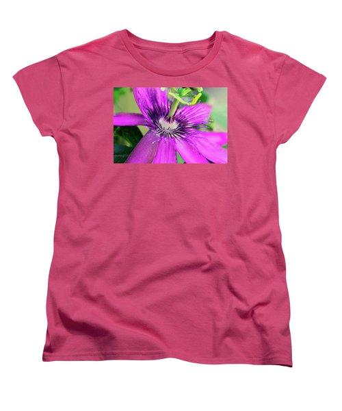 Passion Flower  Women's T-Shirt (Standard Cut)