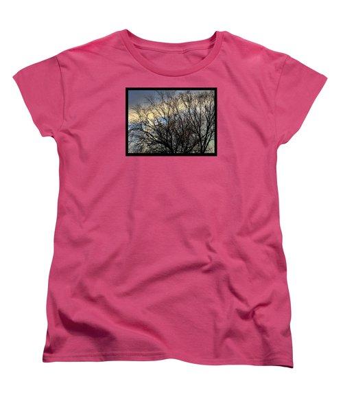 Patterns In The Sky Women's T-Shirt (Standard Cut) by Frank J Casella