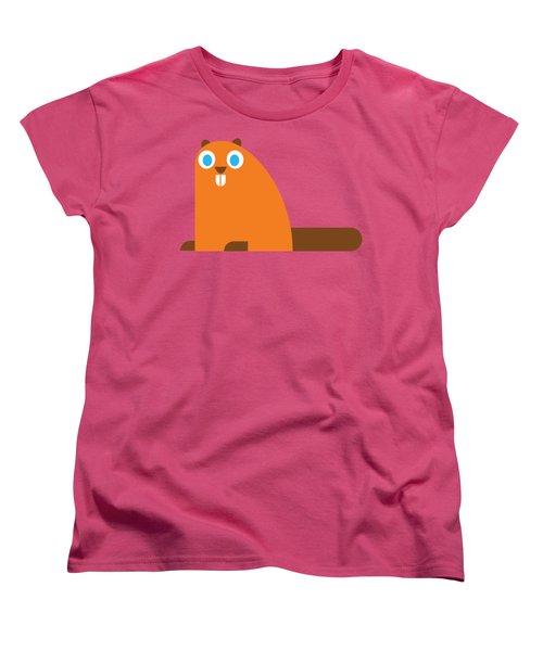 Pbs Kids Beaver Women's T-Shirt (Standard Cut) by Pbs Kids