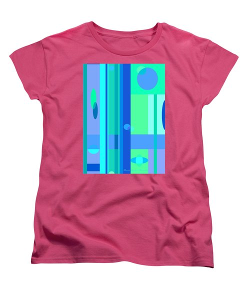 Peaceful Easy Feeling Women's T-Shirt (Standard Cut) by Brooks Garten Hauschild
